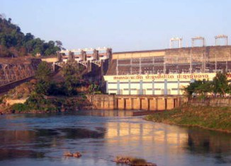 Thailand to develop mega-dam in Laos