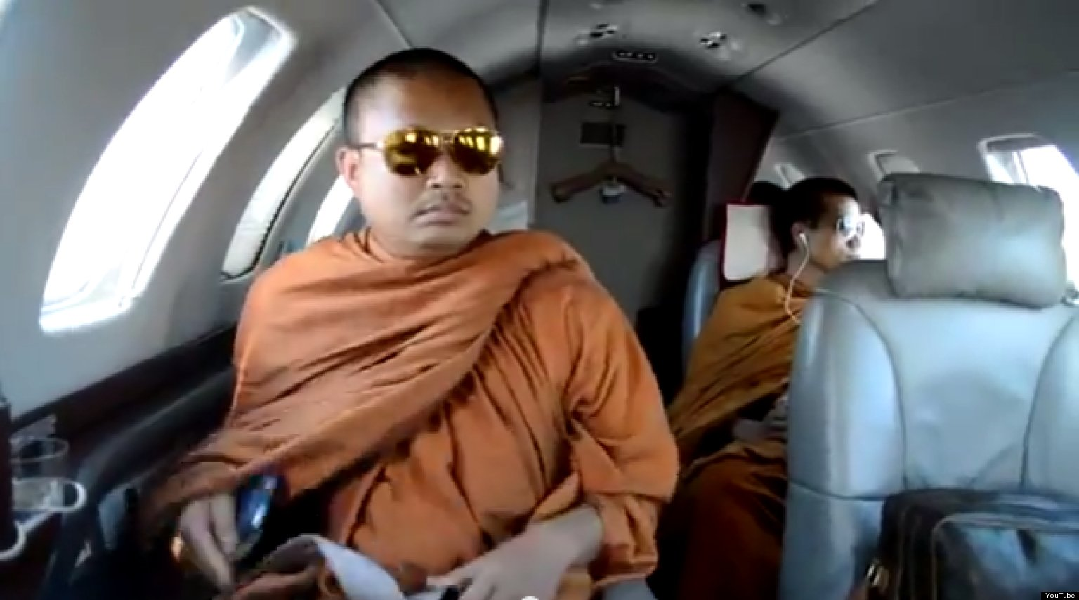 Thai monk caught in whirlpool of scandals