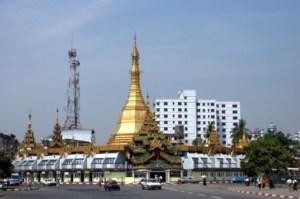 pagoda Yangon