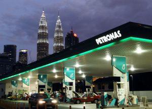 petronas gas station