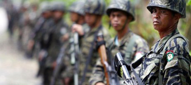 Counter-insurgency begins in the southern Philippines