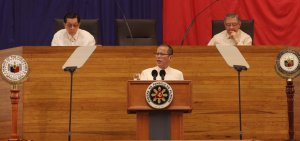 The 'Accidental President' delivers his State of the Nation address