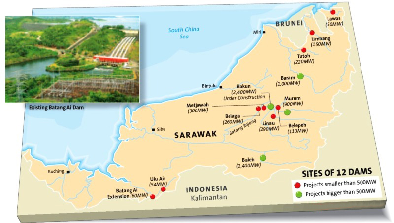 Sarawak hydropower seeks private funds