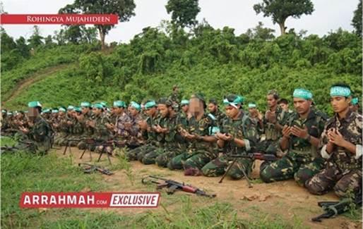 Taliban training camp in Myanmar?