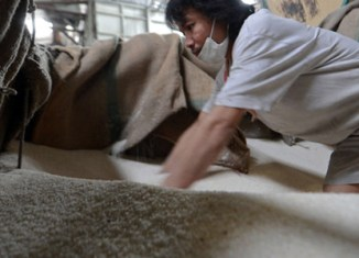China helps Thailand to reduce rice mountain