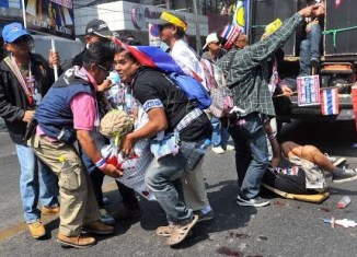 Thai elections unlikely amid violent protests