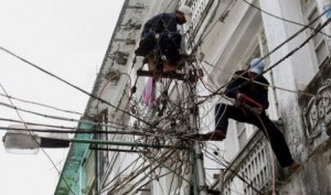 yangon power lines
