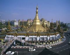 yangon stupa