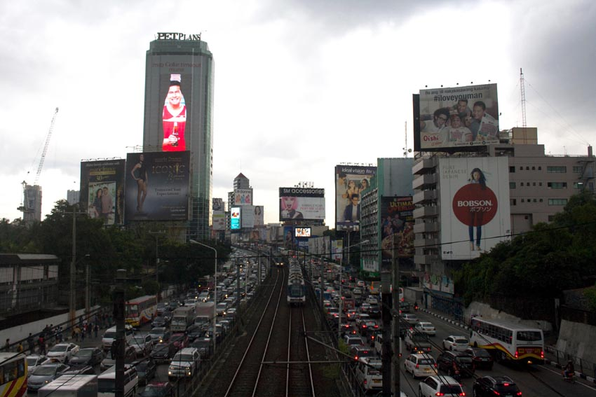 EDSA's nightmarish traffic only exacerbates hardships for Manila's poorest