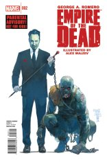 EMPIRE OF THE DEAD ACT ONE #2