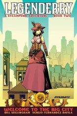 LEGENDERRY A STEAMPUNK ADVENTURE #2 DESJARDINS COVER