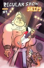 REGULAR SHOW SKIPS #4 COVER B