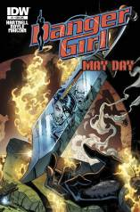 DANGER GIRL MAYDAY #1 SUB COVER
