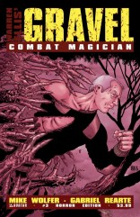GRAVEL COMBAT MAGICIAN #3 HORROR COVER