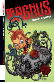 MAGNUS ROBOT FIGHTER #2 HAESER COVER
