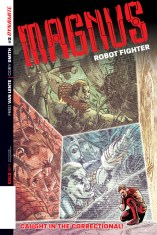 MAGNUS ROBOT FIGHTER #2 HARDMAN COVER