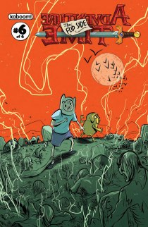 ADVENTURE TIME THE FLIP SIDE #6 COVER A