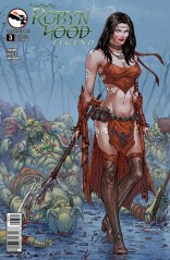 GRIMM FAIRY TALES ROBYN HOOD LEGEND COVER B