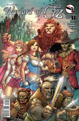 GRIMM FAIRY TALES WARLORD OF OZ #1 COVER E