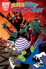 CARTOON NETWORK SUPER SECRET CRISIS WAR #1 COVER B