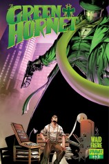 GREEN HORNET #13 LAU COVER