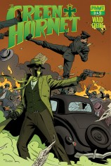 GREEN HORNET #13 RIVERA COVER