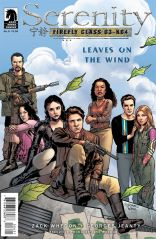 SERENITY LEAVES ON THE WIND #6 JEANTY COVER