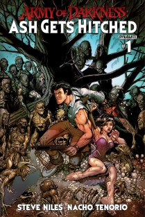 ARMY OF DARKNESS ASH GETS HITCHED #1 BRADSHAW COVER