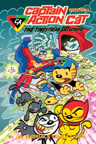 CAPTAIN ACTION CAT THE TIMESTREAM CATASTROPHE #3