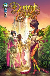 DAMSELS IN EXCESS #1 COVER A