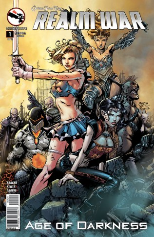 GRIMM FAIRY TALES REALM WAR AGE OF DARKNESS #1 COVER B