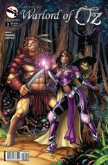 GRIMM FAIRY TALES WARLORD OF OZ #3 COVER B