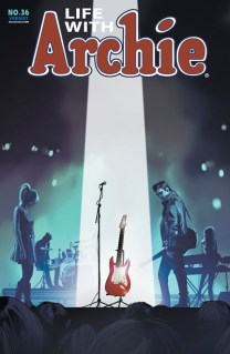 LIFE WITH ARCHIE #36 STAPLES COVER