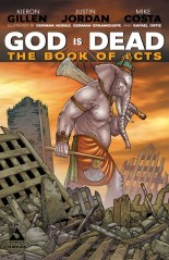 GOD IS DEAD BOOK OF ACTS OMEGA END OF DAYS COVER