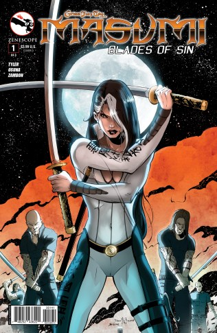 GRIMM FAIRY TALES MASUMI BLADES OF SIN #1 COVER D