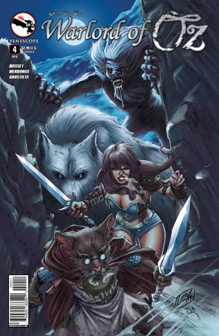 GRIMM FAIRY TALES WARLORD OF OZ #4 COVER A