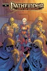 PATHFINDER CITY OF SECRETS #4 LIMITED EDITION COVER