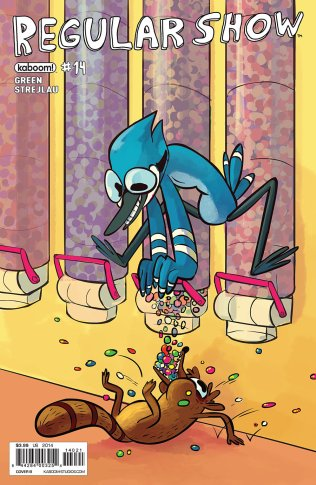 REGULAR SHOW #14 COVER B