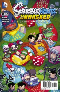 SCRIBBLENAUTS UNMASKED A CRISIS OF IMAGINATION #8