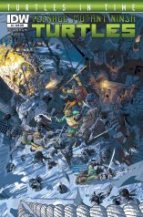 TMNT TURTLES IN TIME #3 SUB COVER