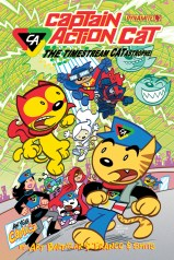 CAPTAIN ACTION CAT THE TIMESTREAM CATASTROPHE #4