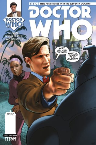 DOCTOR WHO THE ELEVENTH DOCTOR #2 VARIANT B