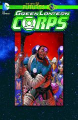 GREEN LANTERN COPRPS FUTURES END #1 STANDARD COVER