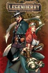 LEGENDERRY A STEAMPUNK ADVENTURE #7 BENITEZ COVER
