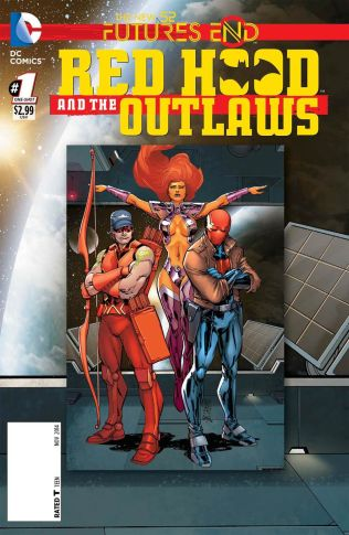 RED HOOD AND THE OUTLAWS FUTURES END #1