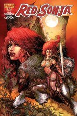 RED SONJA #12 CHIN COVER