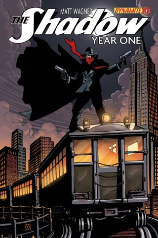 SHADOW YEAR ONE #10 WAGNER COVER
