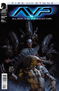 ALIEN VS. PEDATOR FIRE AND STONE #1