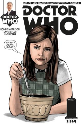 DOCTOR WHO THE 12TH DOCTOR #1 VARIANT B