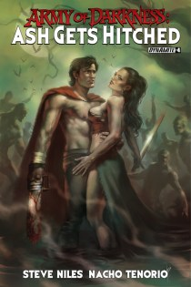 ARMY OF DARKNESS ASH GETS HITCHED #4 PARRILLO COVER